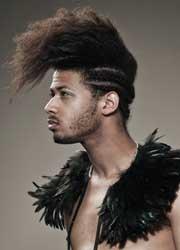 Niloufar Esfandiary: Midnight feathers. Foto Baptiste Coulon